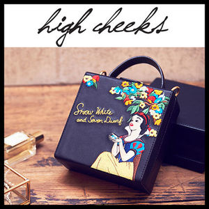 [DISNEY x HIGH CHEEKS][DHL] Snow White Trunk Bag (2種類)