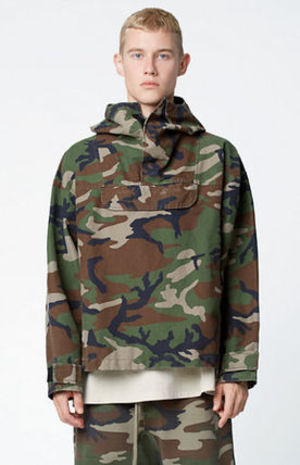 FW16 FOG FEAR OF GOD CAMOUFLAGE ANORAK JACKET CAMO 送料無料