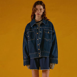 ☆ADERERROR☆Unbalance denim jacket