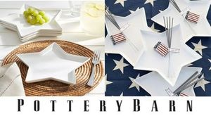 セール!Pottery Barn*SALAD PLATE4枚セット♪