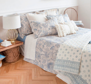 海外)Zara Home ★Shabby Chic★ Bedding cover set シングル