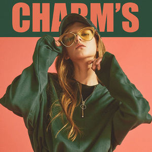 ☆Charms(チャームス)☆  Zip UP T GREEN