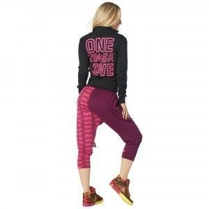追跡可☆One Zumba Love Zip Up Cardigan
