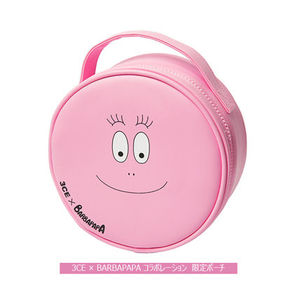 【日本未入荷】★3CE+Barbapapa MAKEUP POUCH★