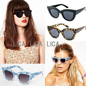 送料無料・国内発送ASOS Flat Top Cat Eye Sunglasses