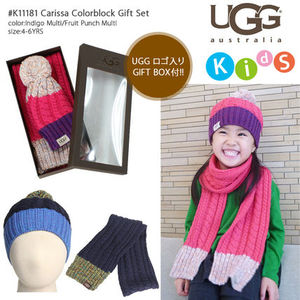 【即納】UGG #K11181 Carissa Colorblock Gift Set ギフトセット