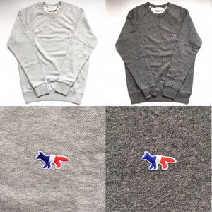 【国内在庫有】Maison Kitsune Tricolor Fox Patch スウェット
