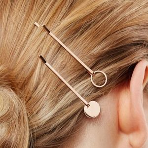 """COS""DISC HAIR PINS RoseGold"