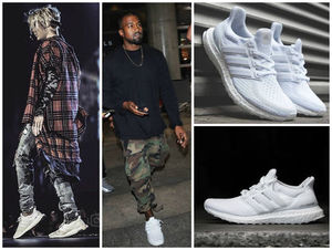 Justin Bieber Kanye West 愛用 adidas Ultra Boost WHITE YEEZY
