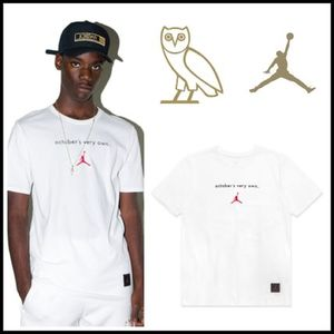 【OVO×JORDAN12】☆16AWコラボ☆OCTOBER'S VERY OWN TEE WHITE