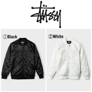 【STUSSY】☆16AW新作☆SATIN PALM JACKET