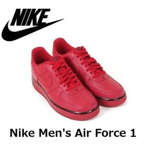 ☆セール☆Nike Men's Air Force 1  Leather Gym Red