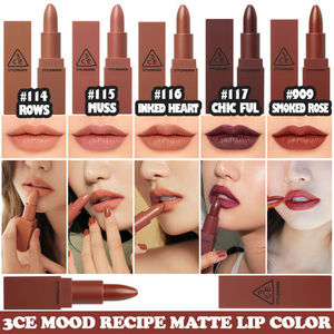 3CE MOOD RECIPE  MATTE LIP COLOR-#114/#115/#116/#117/#909