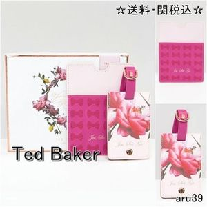 Ted Baker・パスポートケース&ラゲージタグセット