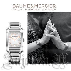 Baume&Mercier Hampton Milleis Steel Ladies Watch 10020