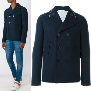 16-17AW VM123 'ROCKSTUD UNTITLED' PEA COAT