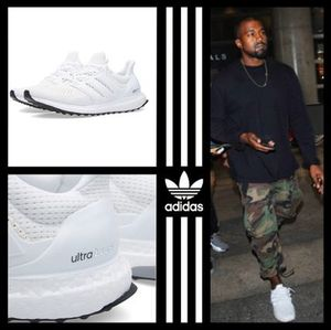 KanyeWest着用 adidas Ultra Boost S77416 オールホワイト