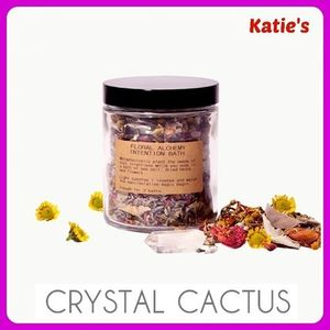 日本未入荷 CrystalCactus FLORAL ALCHEMY INTENTION バスソルト