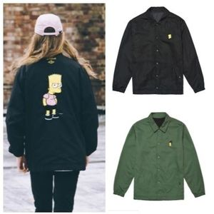 日本未入荷 STEREOVINYLSの[AW16 Simpsons] Coach Jacket