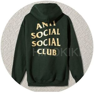 S-XL★Anti Social Social Club Mind Games Hoodie Pullover 緑