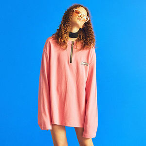 ☆Charm's(チャームス)☆ Zip UP T PINK