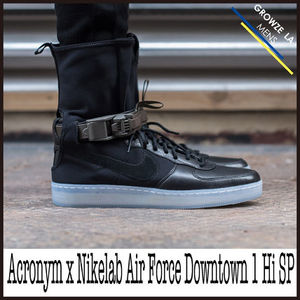 ★【NIKE】Acronym x Nikelab Air Force Downtown 1 Hi SP