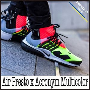 ★【NIKE】超入手困難!!コラボ Air Presto x Acronym Multicolor