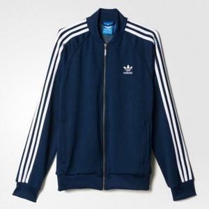 ADIDAS MEN'S ORIGINALS☆SST TRACK TOP ネイビー AB9715