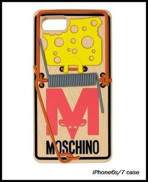 最新作☆Moschino(モスキーノ)☆RAT-A-PORTER iPhone6S 7 case