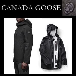 ベッカム愛用CANADA GOOSE♪COASTAL SHELL BLACK LABEL送料込