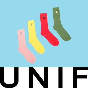 SS16! 即完売! UNIF Clothing FRUIT SOCK 4-PACK