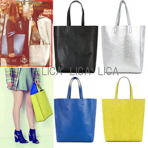 送料無料・国内発送ASOS/New Look Animal Textured Shopper Bag