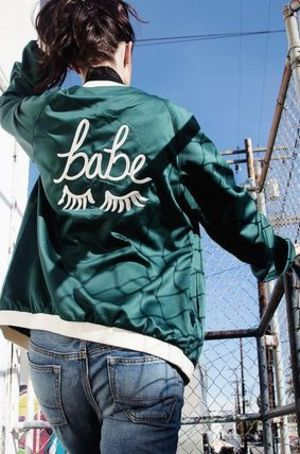 The Style Club The Babe ジャケット (4カラー)