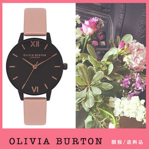 送税込【Olivia Burton】After Dark IP Black, Dusty Pink♪国発