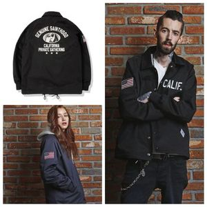 日本未入荷[ SAINTPAIN ] SP CALIF COACH JKT-BLACK