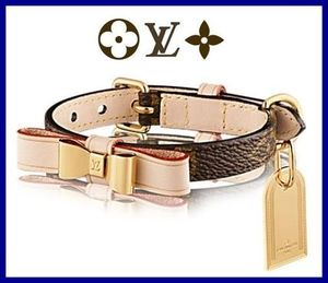 ★LOUIS VUITTON★モノグラム Baxter Dog Collar ドッグカラーXS