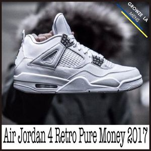 ★【NIKE】入手困難 ナイキ Air Jordan 4 Retro Pure Money 2017