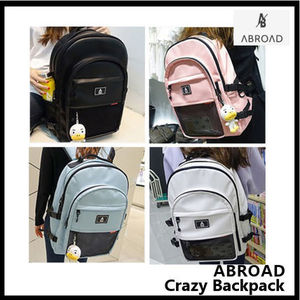 ABROAD Crazy Backpack バックパック 4色 収納ポケット16ケ所