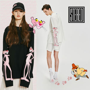 2017 SS【Stereo X Pink Panther】PRINT LONG SLEEVE 全2色