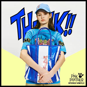 [STEREO VINYLS x Pink Panther] Shoulder Bag(Blue) ショルダー