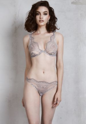 I.D. SARRIERI★JULIETTE DANS LA NUIT UNDERWIRED TRIANGLE BRA
