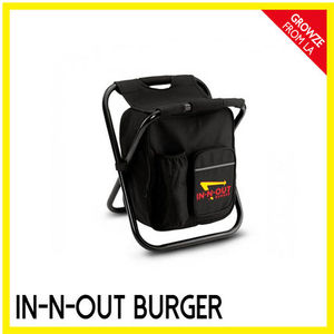 【IN-N-OUT】カリフォルニア限定☆クーラーバック付 イス