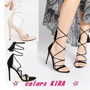 ASOS HINDSIGHT Heeled Sandals♪2色