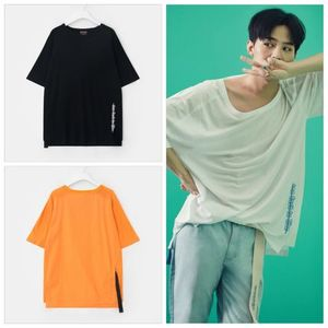[GD着用]2017SS[8XGD's Pick]Zipper Pocket Half Sleeve T-Shirt
