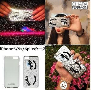 【国内発・送関込】CHIARA FERRAGNI iPhone5/5s/6Plus ケース
