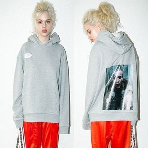 [CLUT STUDIO正規品] piercing man double hood grey