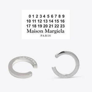 *国内発*送関込*Maison Margiela 11*Engraved Silver Ring ロゴ