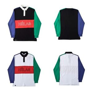 17SSフランス発ストリート!!Helas MELEMELE RUGBY L/S POLO