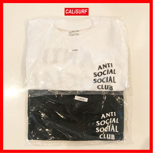 【選べるロゴT 白or黒 S〜XL】ANTI SOCIAL SOCIAL CLUB