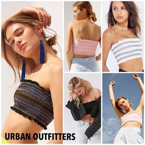 Urban Outfitters★人気 チューブトップ 4色展開  夏フェス